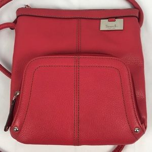 Tignanello Leather Crossbody Handbag
